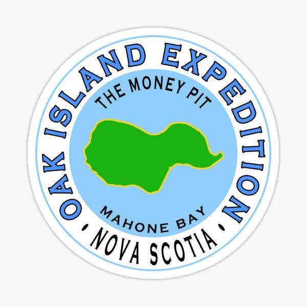 Oak Island Money Pit Expedition Sticker
