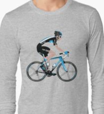 Bradley Wiggins Team Sky Long Sleeve T-Shirt