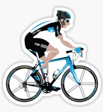Bradley Wiggins Team Sky Sticker