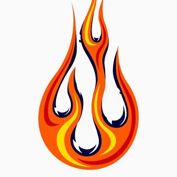 Flame Drop by HankTheTurtle