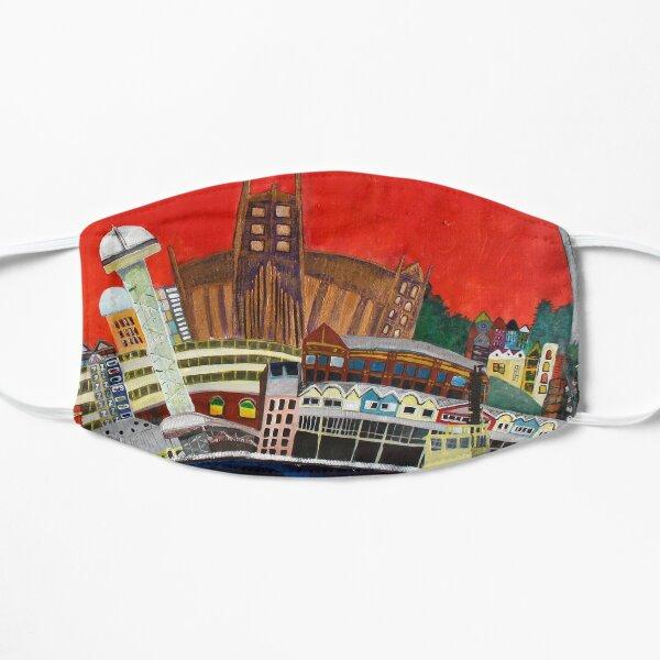 Newcastle - vivid Flat Mask