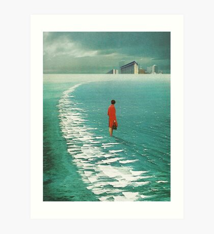 Waiting For The Cities To Fade Out Art Print