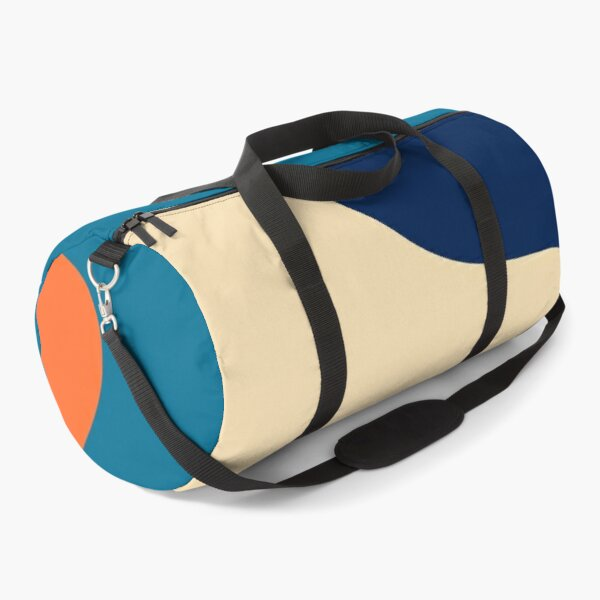 Retro 70s and 80s Colorful Fluid Abstraction 1 Duffle Bag
