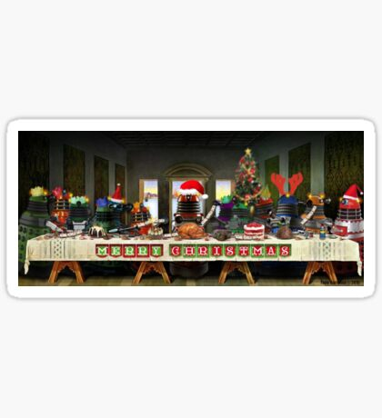 The Last Christmas Dinner Sticker