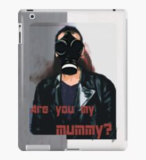 are you my mummy? iPad Case/Skin