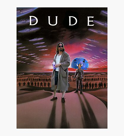 DUDE/DUNE Photographic Print