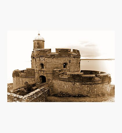 St. Mawes Castle Photographic Print