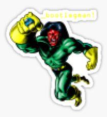 _bootlegman! Sticker