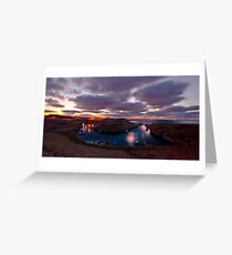 Seaton Sluice Greeting Card