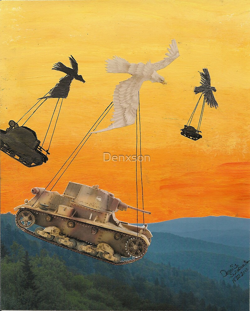 Surrealism Experiment  by Denxson