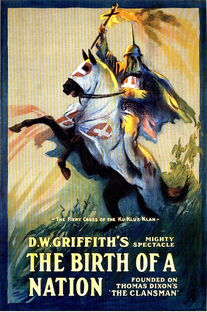 Birth of a Nation DW Griffith Classic Film Poster by bobmick