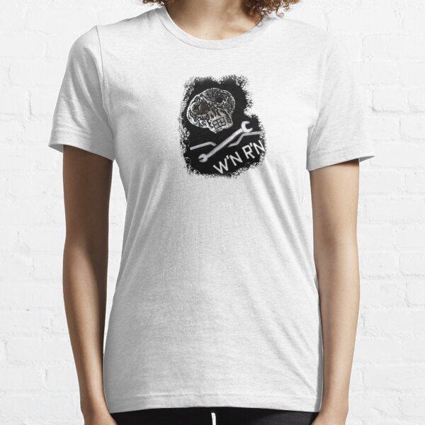 Wrench'N Ride'N skull t-shirt Essential T-Shirt