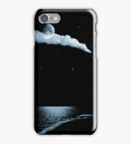 Moonlight beach for iphone iPhone Case/Skin