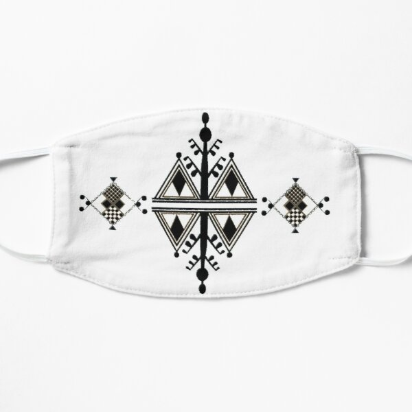 Motif berbere Masque sans plis