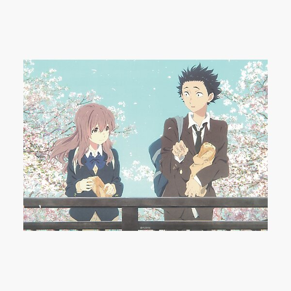 A Silent Voice | Shoya | Shouko | Anime movie Photographic Print