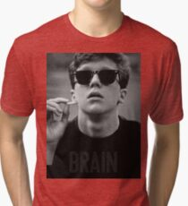 Brain - The Breakfast Club Tri-blend T-Shirt
