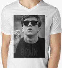Brain - The Breakfast Club Men's V-Neck T-Shirt