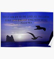 shout for joy! Poster