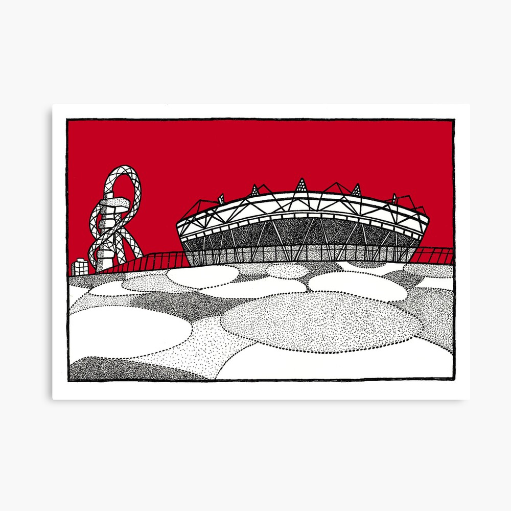 The Olympic Stadium Leinwanddruck