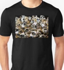 Diamonds and Gold SuperMacro 9 T-Shirt