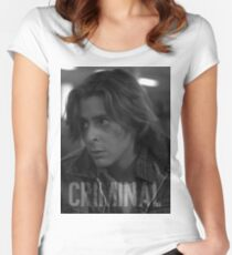 Criminal - The Breakfast Club Women's Fitted Scoop T-Shirt