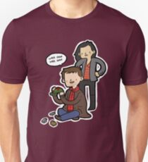 Sherlock, Joan, and Clyde Unisex T-Shirt