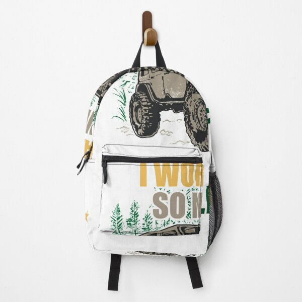 I work hard so my 4wd so my 4wd can live a better life Backpack
