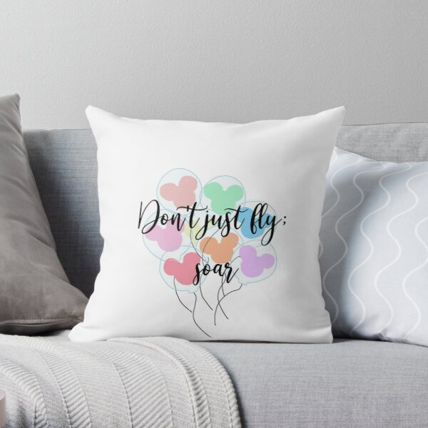 Don't Just Fly; Soar Throw Pillow