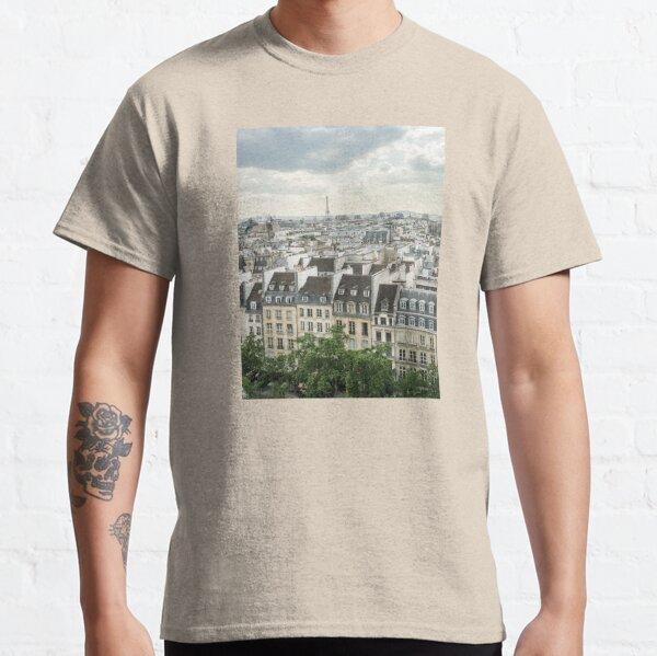 Paris Morning Rooftops Classic T-Shirt