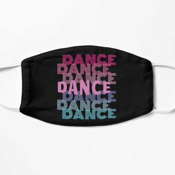 Dance With Retro Look Lettering Mask