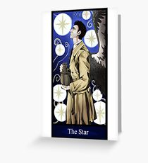 Castiel- The Star Greeting Card