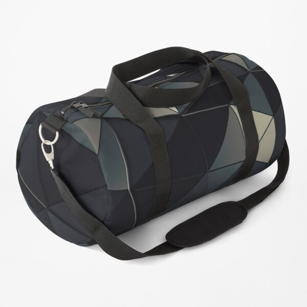 Polygon Noir Duffle Bag