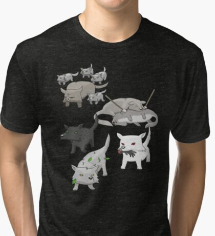 House Stark Tri-blend T-Shirt