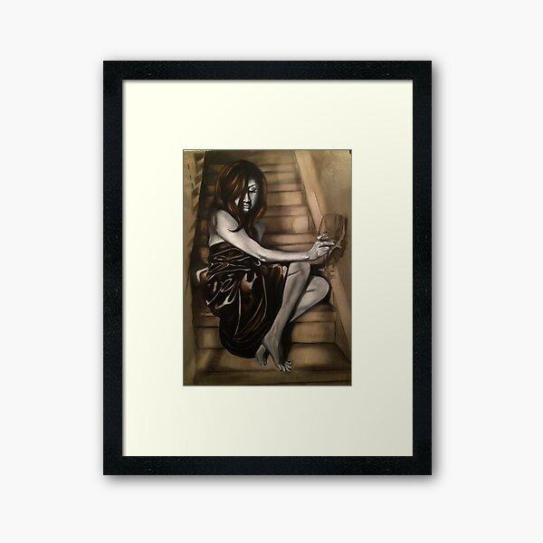The Light on the Stair Framed Art Print
