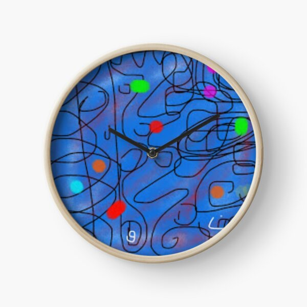 Bleep Bloop Bleep Clock