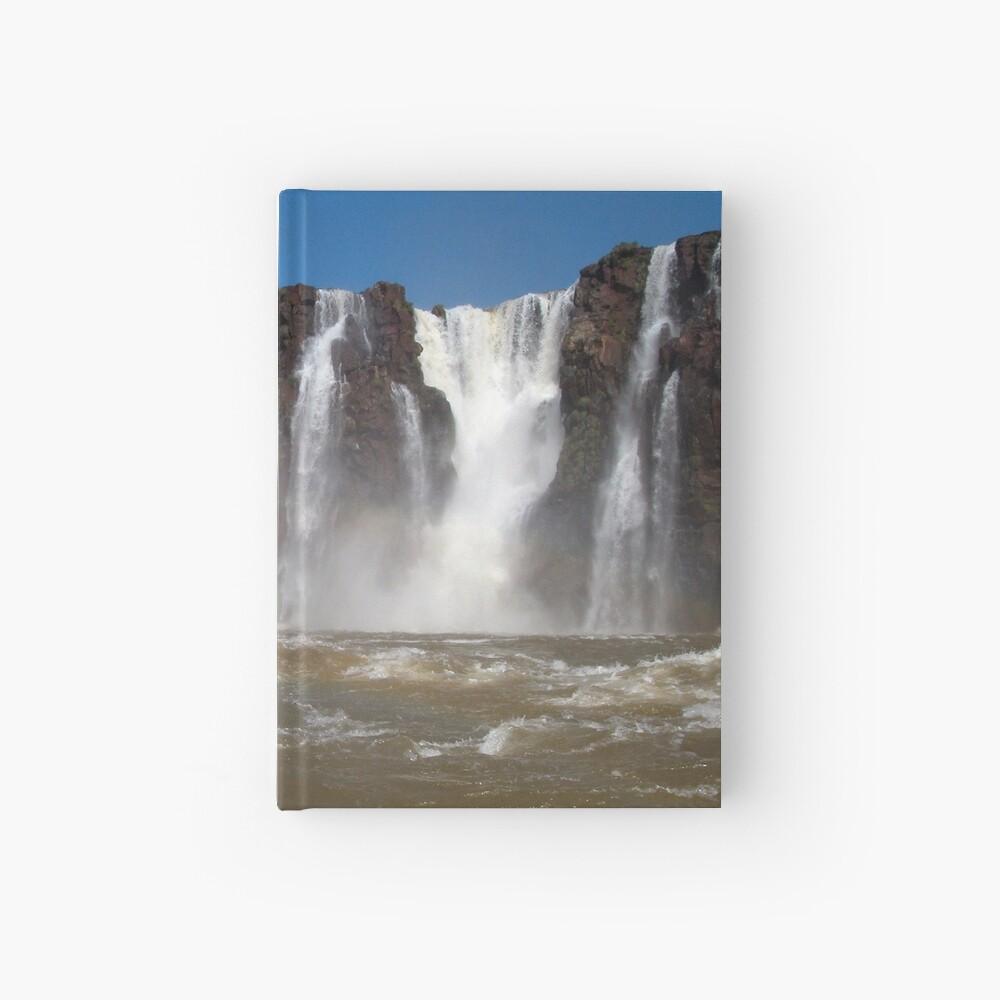 Iguazu Iguassu Waterfall Landscape Panorama Scenery, Brazil Argentina 3 Hardcover Journal