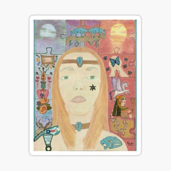 The Master Healer Sticker