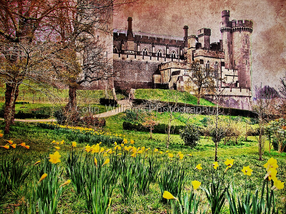 Spring At Arundel Castle - HDR by Colin  Williams Photography