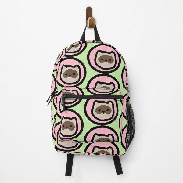 Pink Ferret Backpack