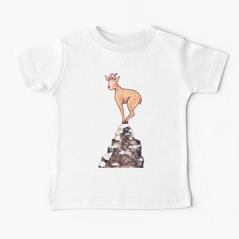 Winter Goat Baby T-Shirt