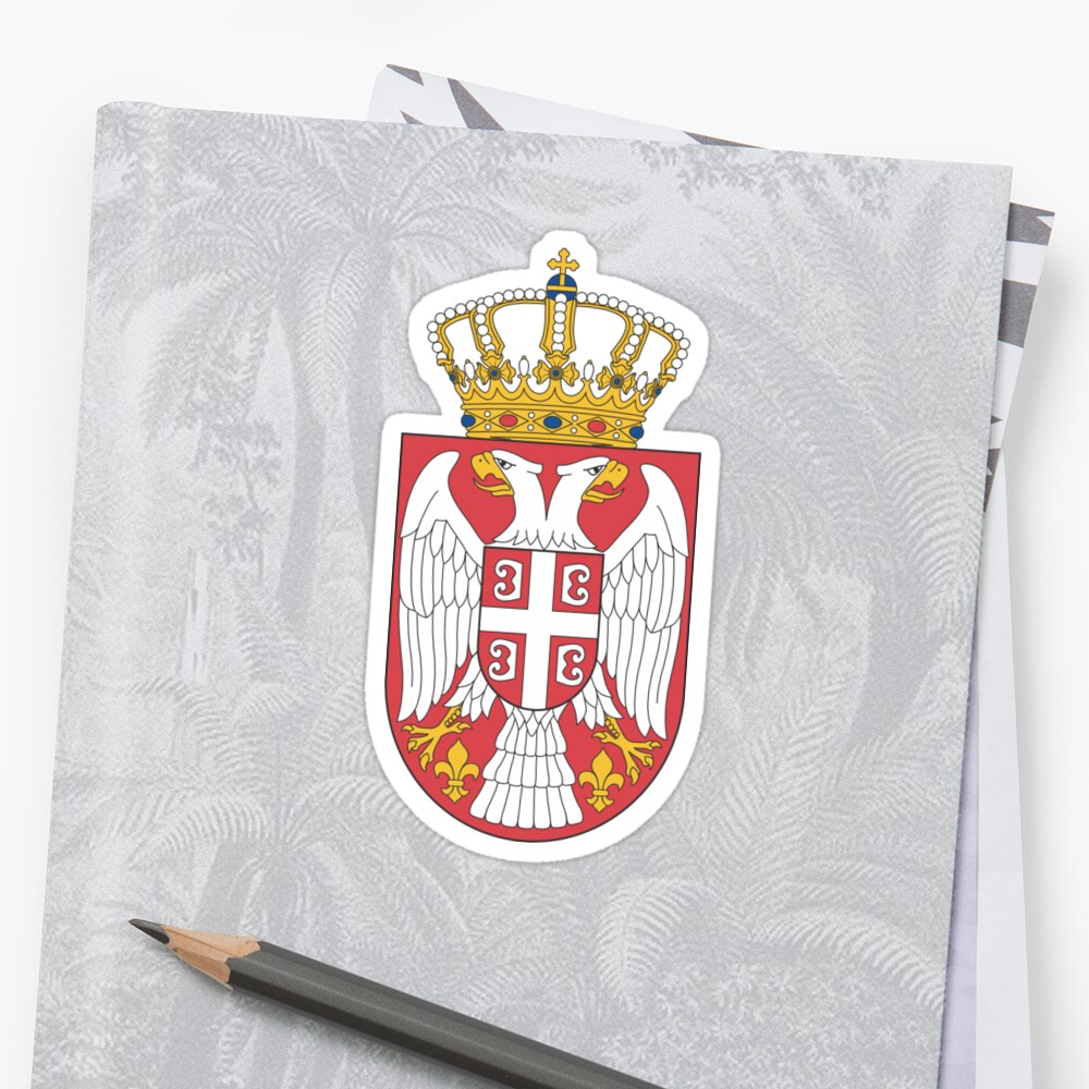 Lesser Coat of Arms of Serbia by abbeyz71