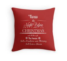 'Twas the Night Before Christmas Throw Pillow