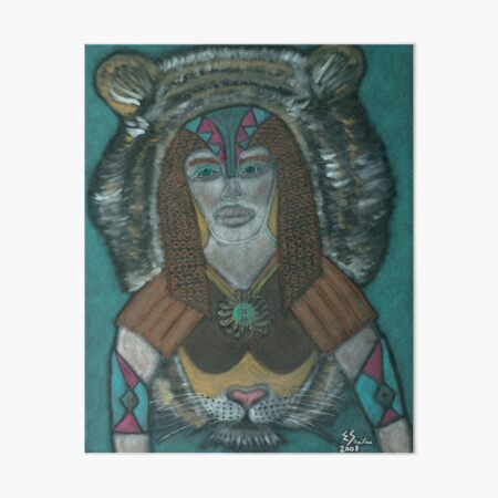 The Spiritual Warrior Art Board Print