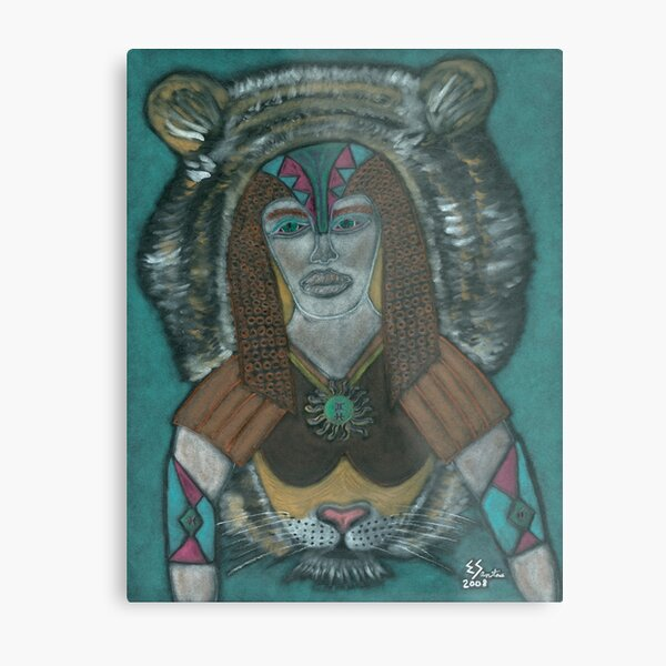 The Spiritual Warrior Metal Print