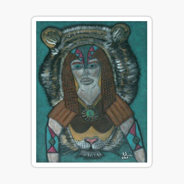 The Spiritual Warrior Sticker