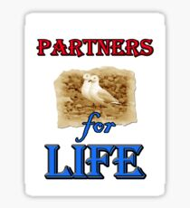 PARTNERS FOR LIFE Sticker