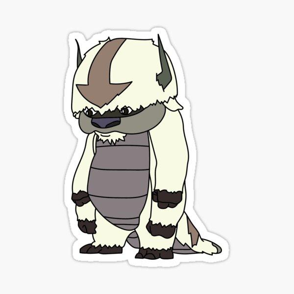 Bipedal Appa Sticker