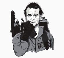 Ghostbusters Peter Venkman Bill Murray illustration | Unisex T-Shirt