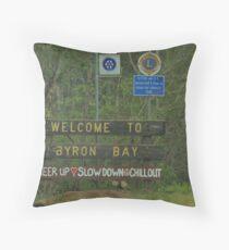 Byron Bay NSW Throw Pillow