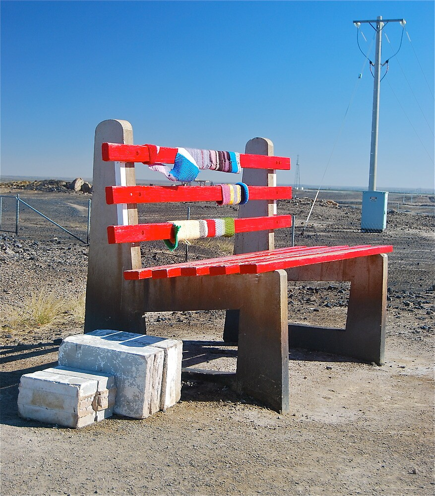 The Big Bench Seat by peasticks